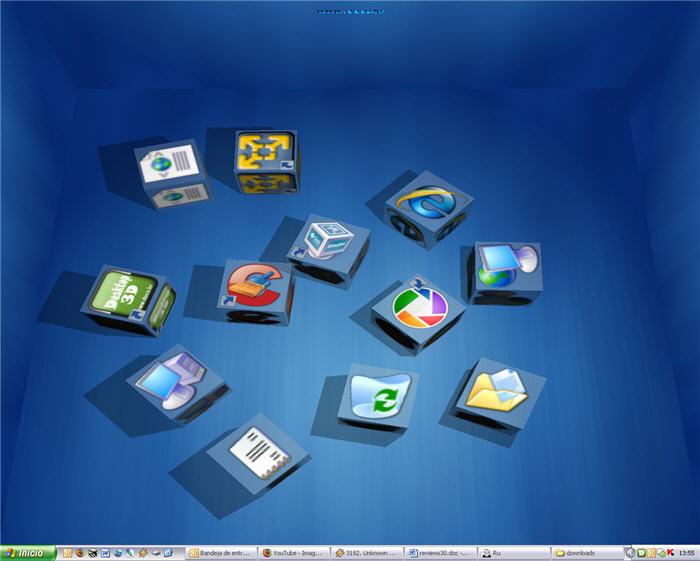 16 3D Icons For Windows 7 Images - Free 3D Desktop Themes Windows 7