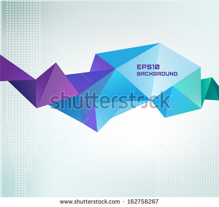 Abstract Geometric Vector Shapes