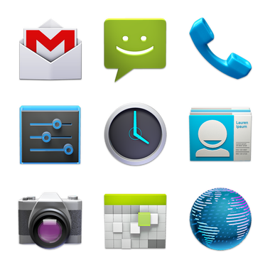 17 Android Application Icon Images