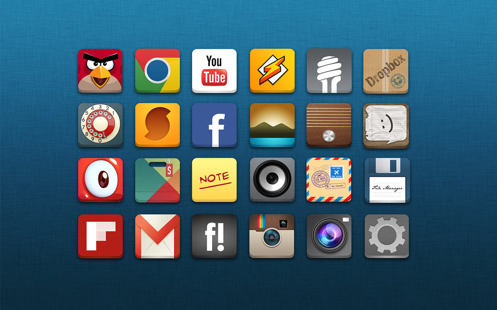 Android Application Icon App