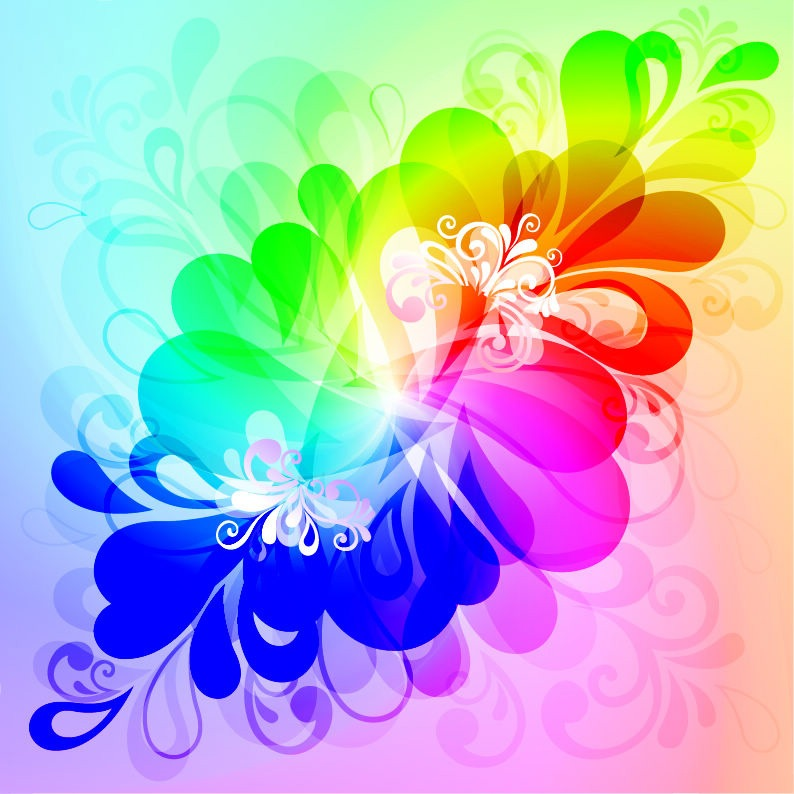 Background Colorful Vector Graphic Design