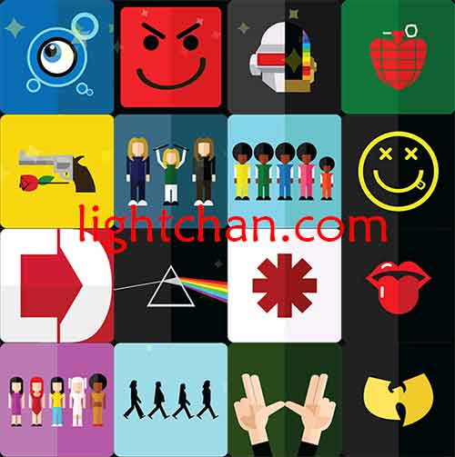 8 Icon Pop Quiz Bands Images
