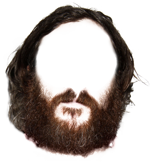 Beard Cut Out Transparent