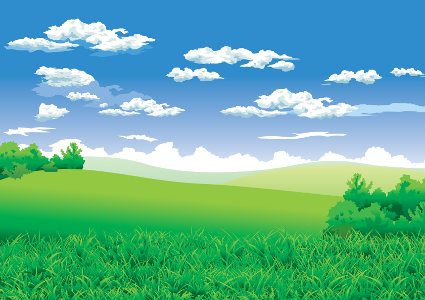 Beautiful Scenery Clip Art