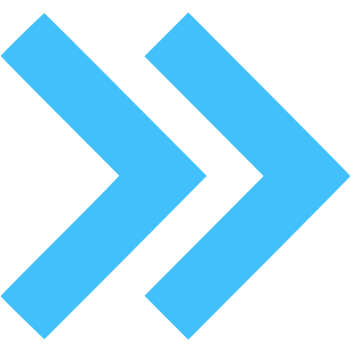 Blue Arrow Icon