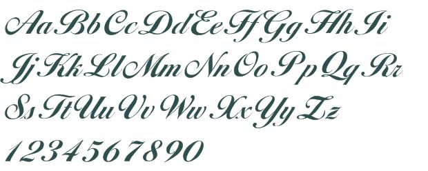 Bold Cursive Script Fonts Free