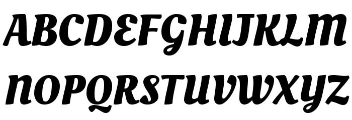 Bold Cursive Script Fonts
