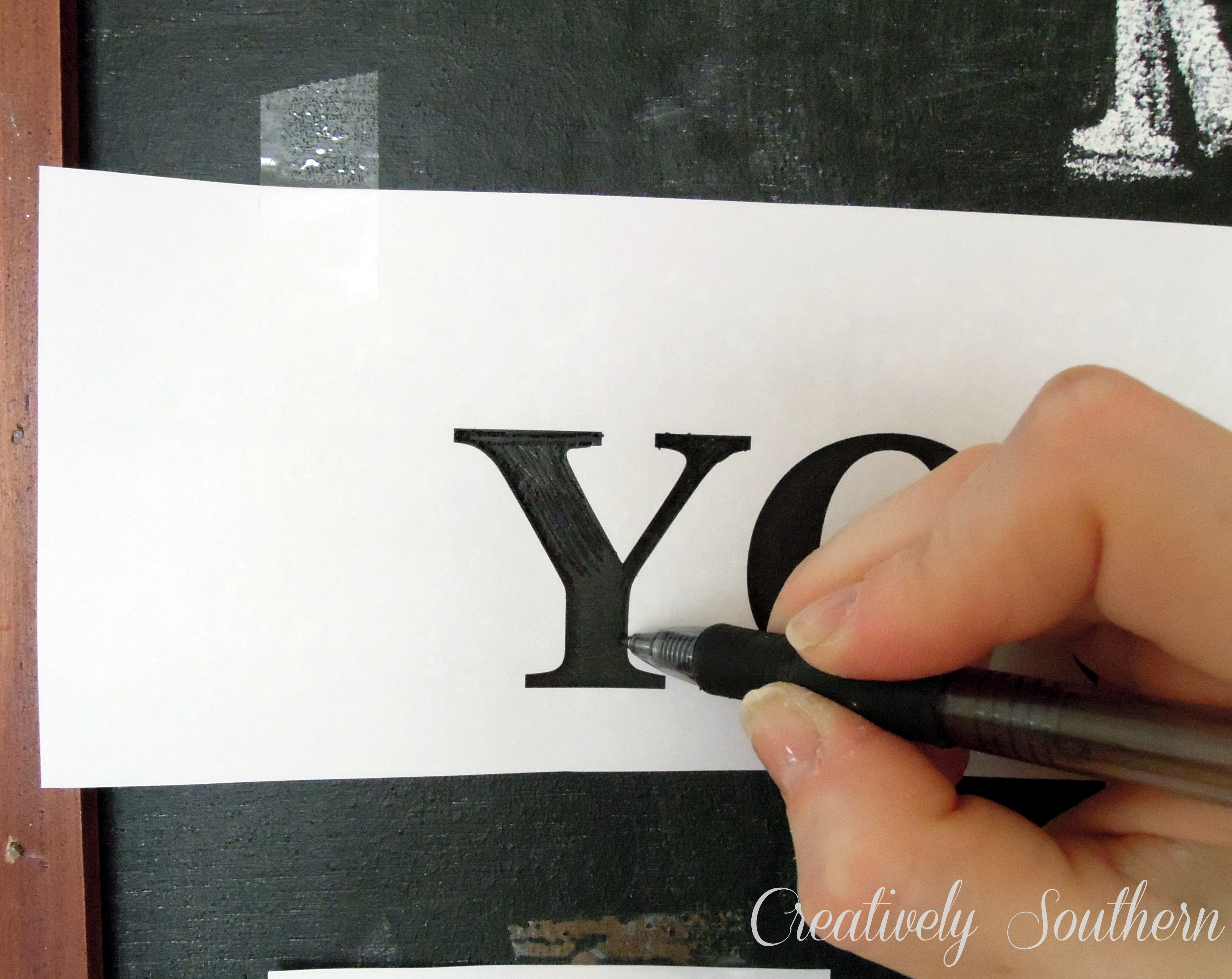 photograph relating to Printable Chalkboard Letters known as 14 Chalkboard Font Stencils Illustrations or photos - Create Your Private