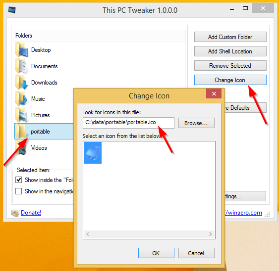 How to change folder icon in windows 8 1 | How to customize your