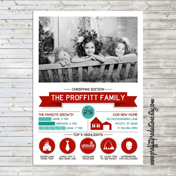 11 Infographic Holiday Card Images