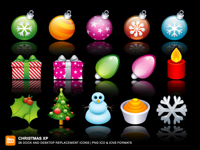 Christmas Desktop Icons