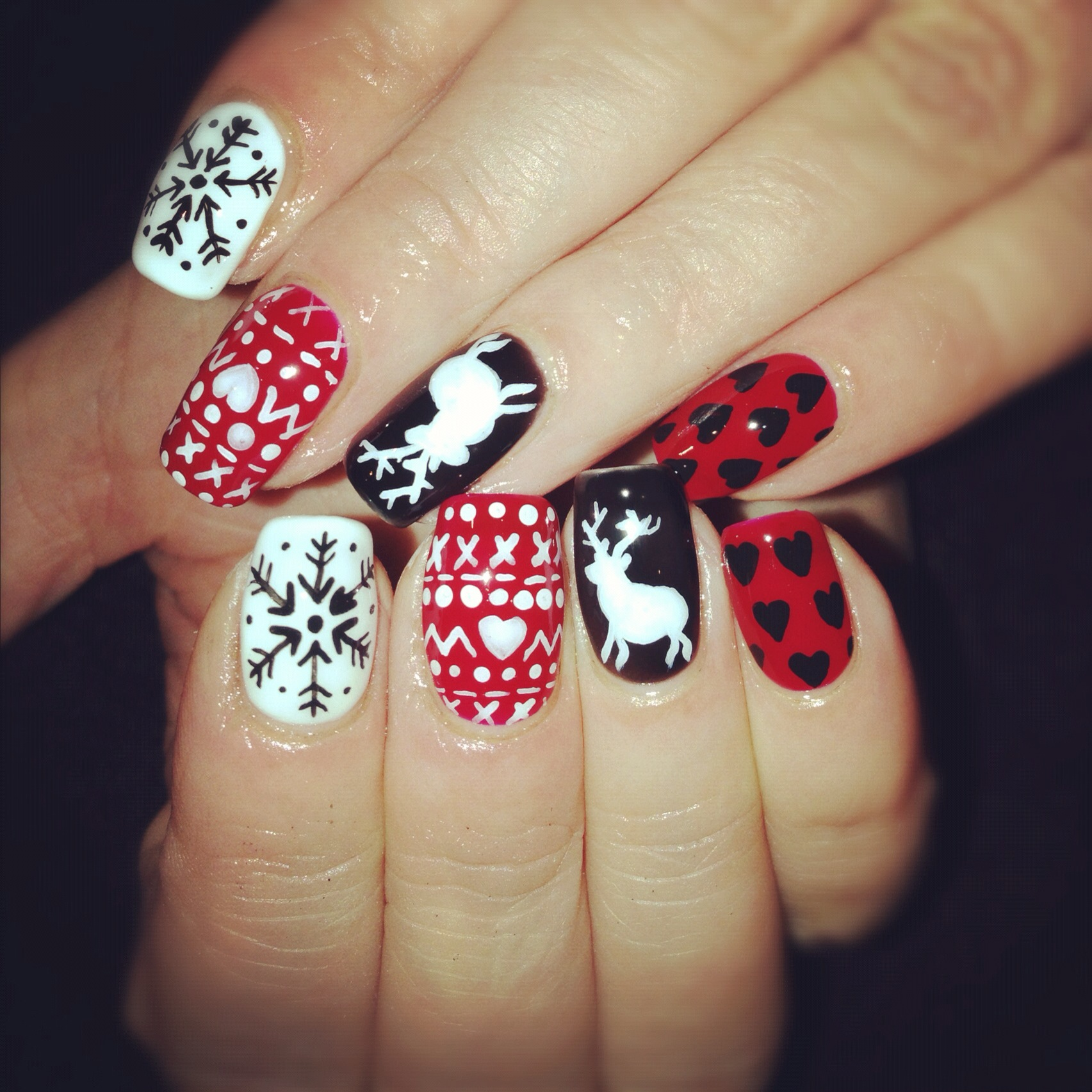 13 Christmas Gel Nail Designs Images Christmas Gel Nails Christmas Gel Nail Art Designs And Christmas Nail Design Ideas Newdesignfile Com
