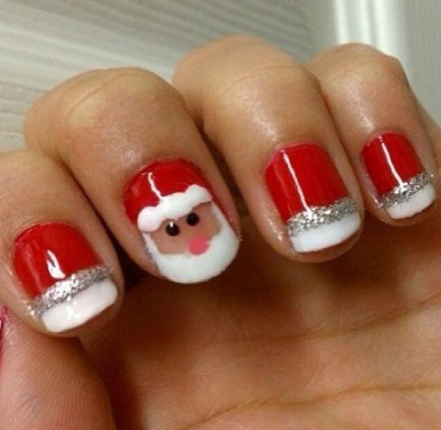 13 Christmas Gel Nail Designs Images