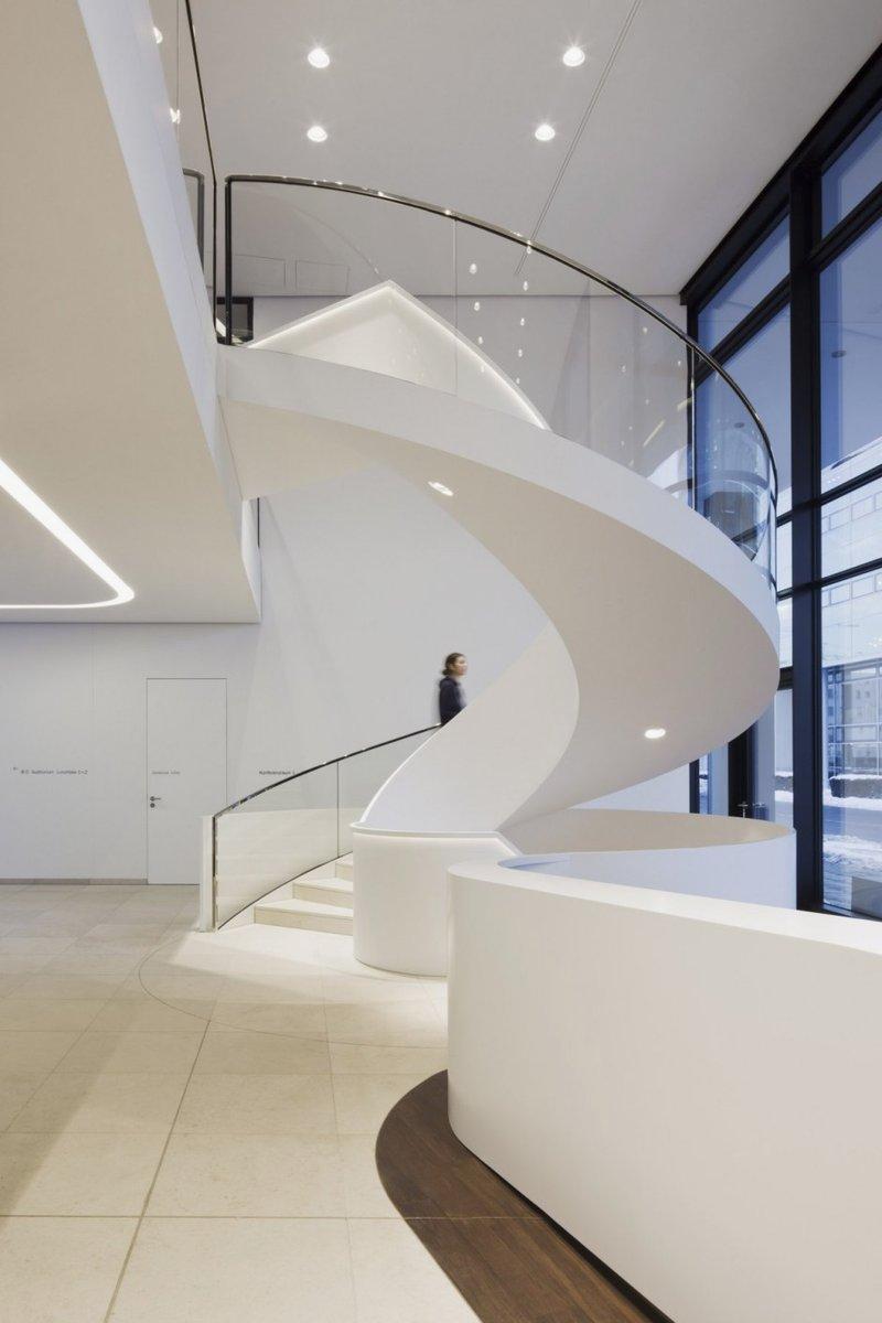 15 Circular Design Modern Office Building Images