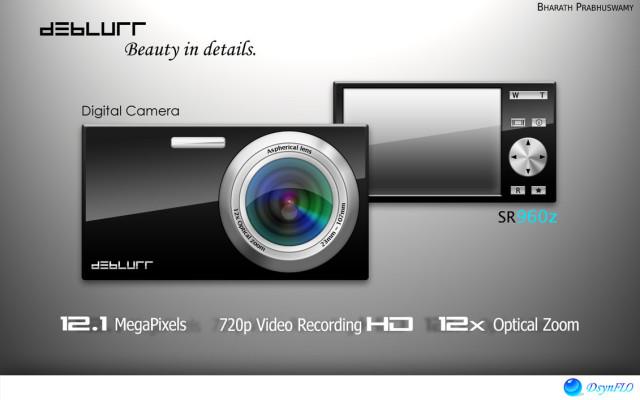 Digital Camera Template