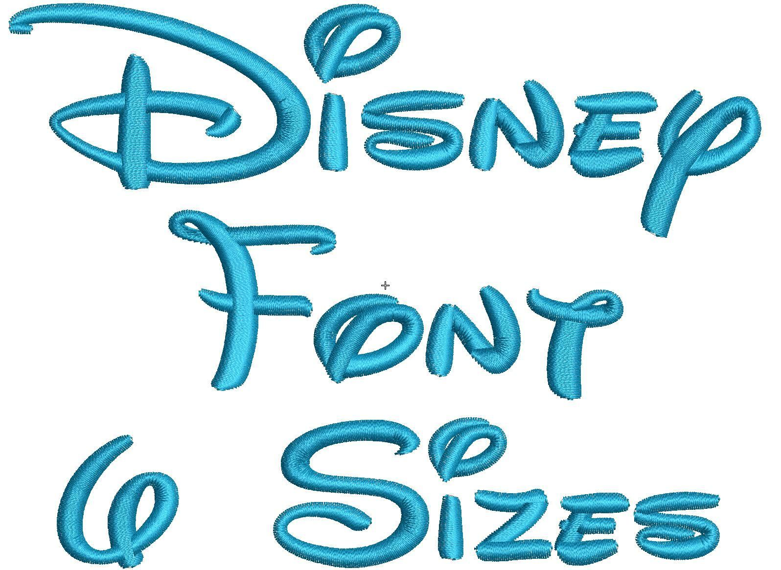 12 Disney Embroidery Font Images