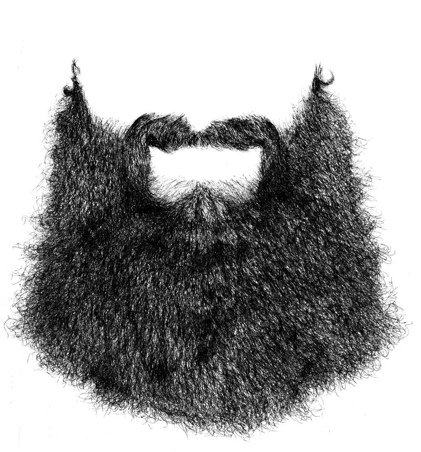 Drawings of Transparent Beard