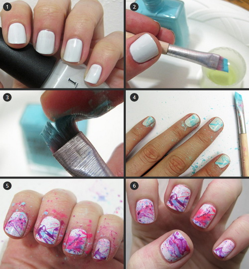 19 Step By Step Nail Designs For Short Nails Images