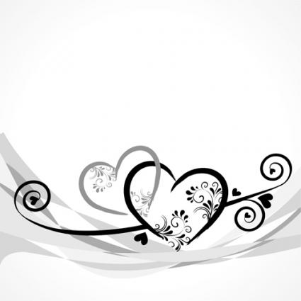 Elegant Heart Border Templates