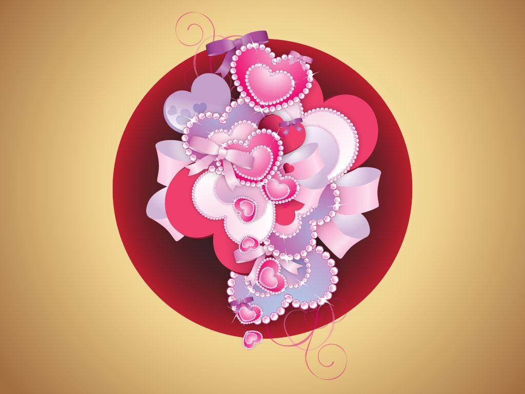 Elegant Heart Vector Clip Art
