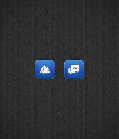 Facebook Icon PSD