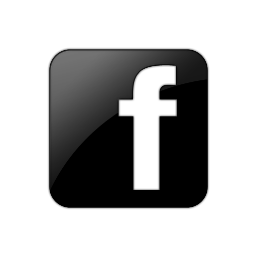 Facebook Logo Black and White
