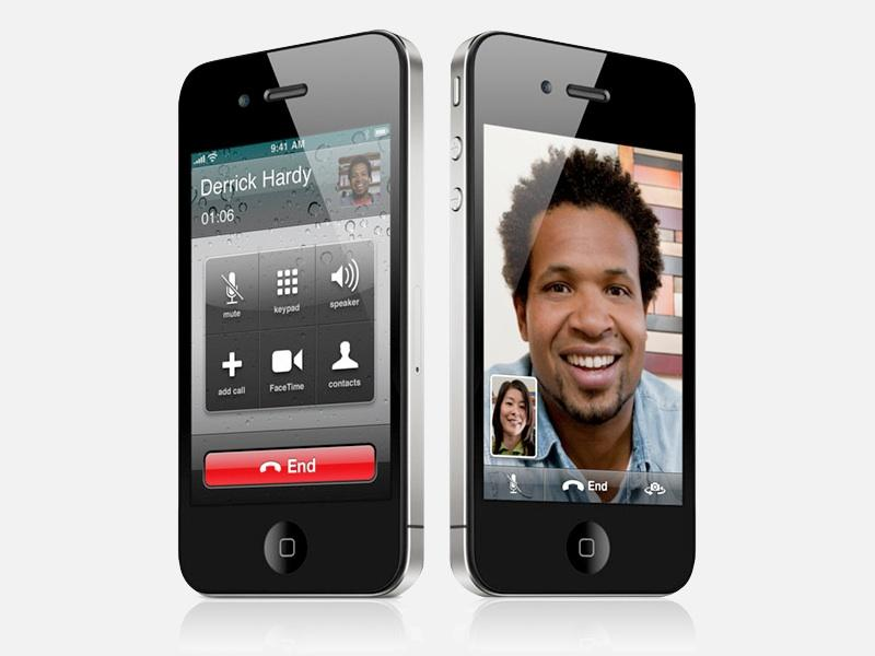 13 FaceTime Icon On IPhone 4 Images