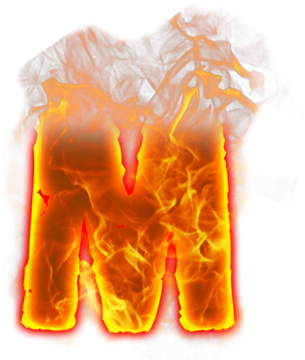 Fire PSD Transparent