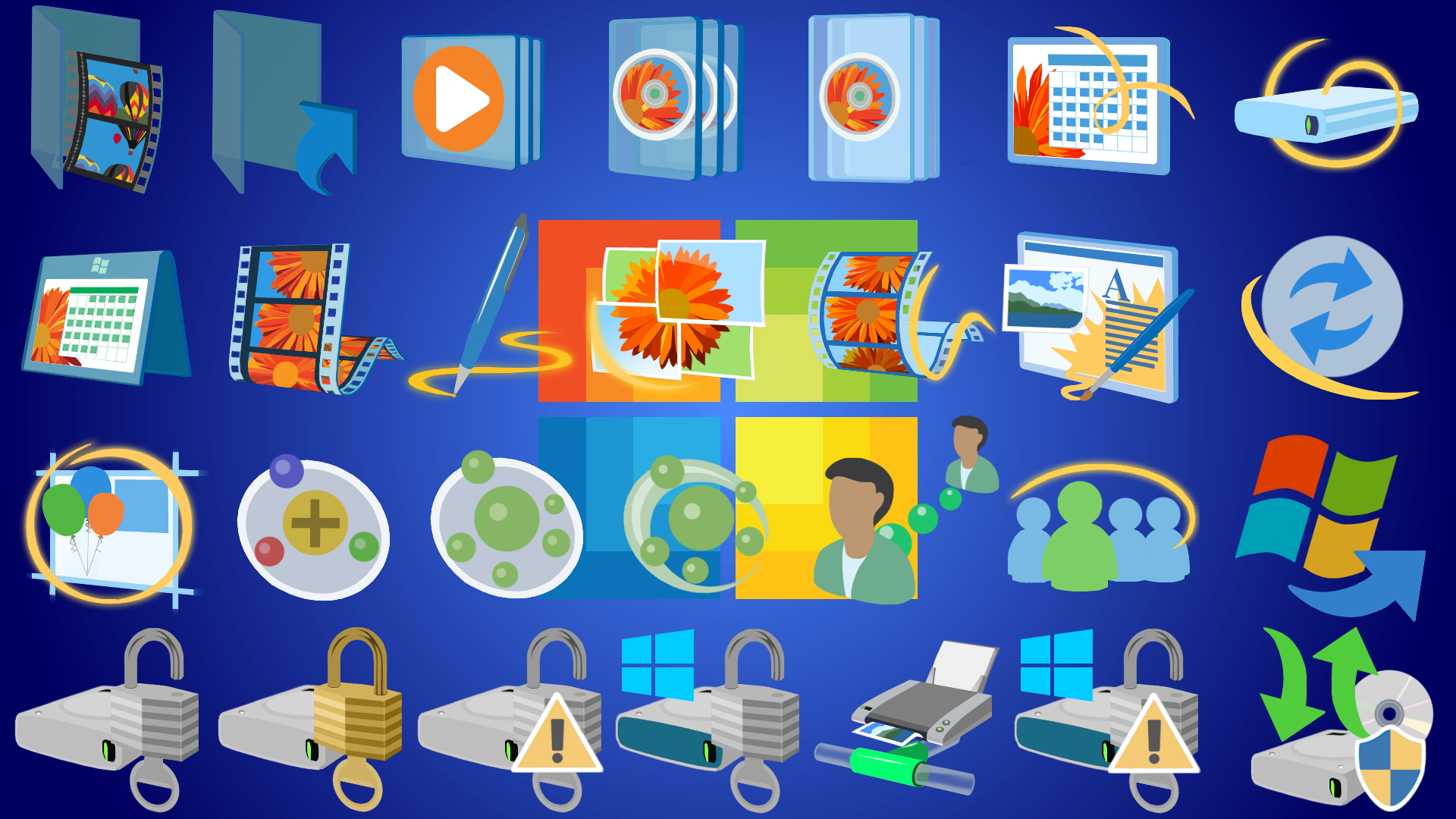 9 Windows 7 Update Icon Images - Windows Update Icon, Icon Pack