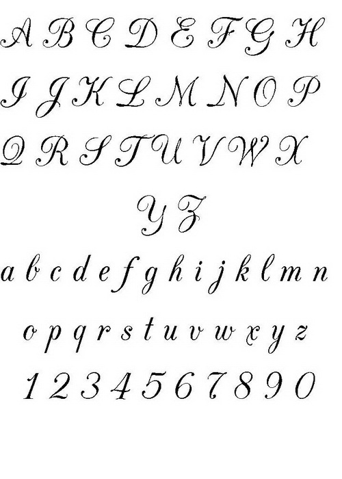Font Design Tattoo Lettering Styles