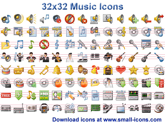 Free 32X32 Icons for Windows