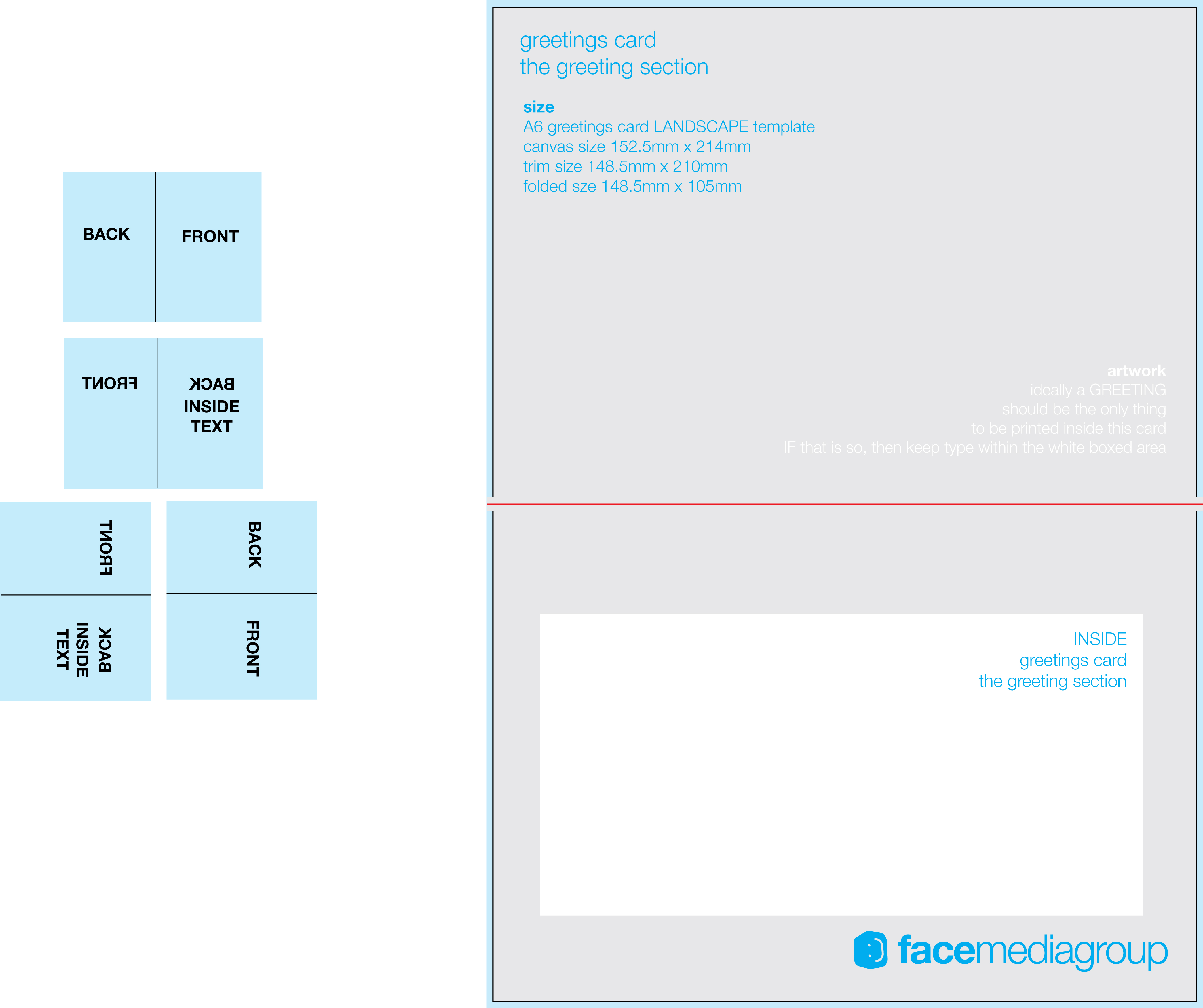 Free Blank Greeting Card Templates