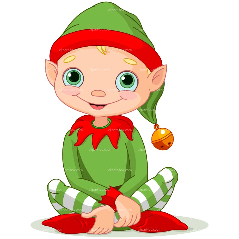 10 Christmas Elves Vector Graphics Images - Christmas ...