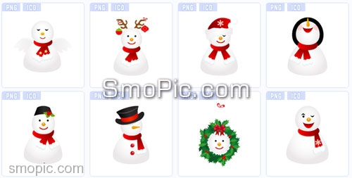 7 Christmas Windows Icon File ICO Images - Download Windows 7