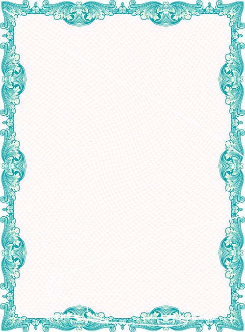 17 frame border design images