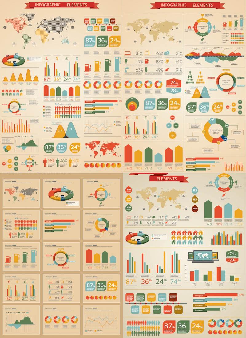 Infographic vector art