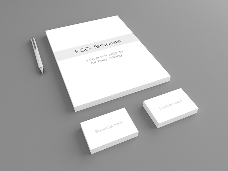 13 Stationary Mockup PSD Images