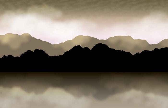 Free PowerPoint Templates Mountains