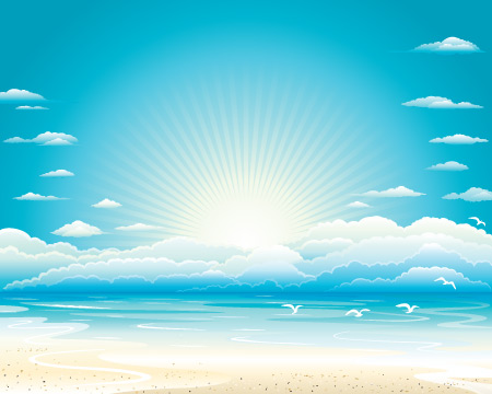 14 Beach Vector Free Images