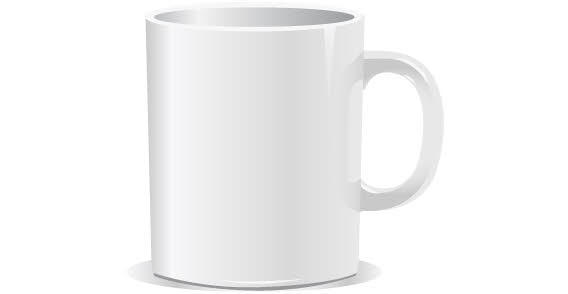 20 Mug Template Vector Images