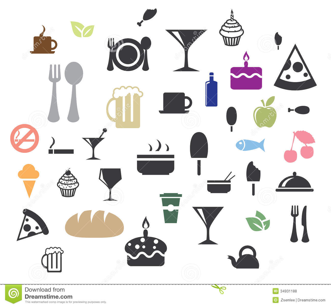 Free Vector Icons Food