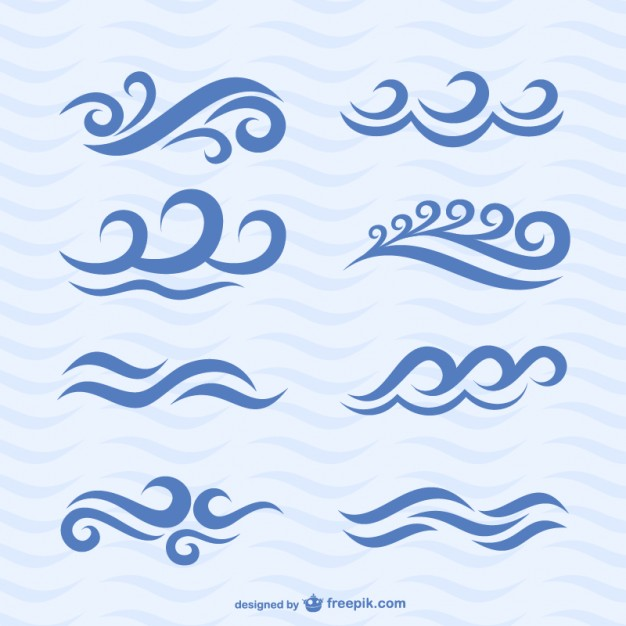 Free Vector Water Wave Icon