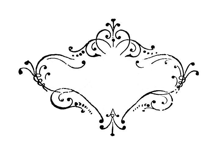 14 Vintage Scroll Designs Images