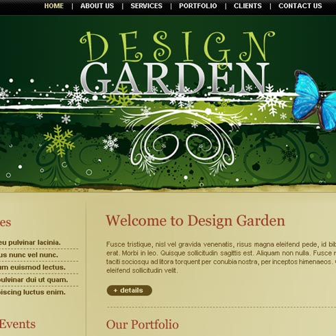 Free Web Design Template