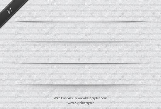 14 PSD Line Divider Images
