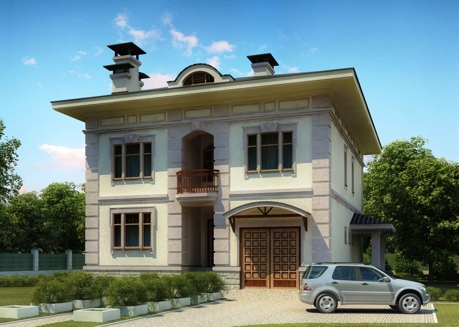 Front House Design