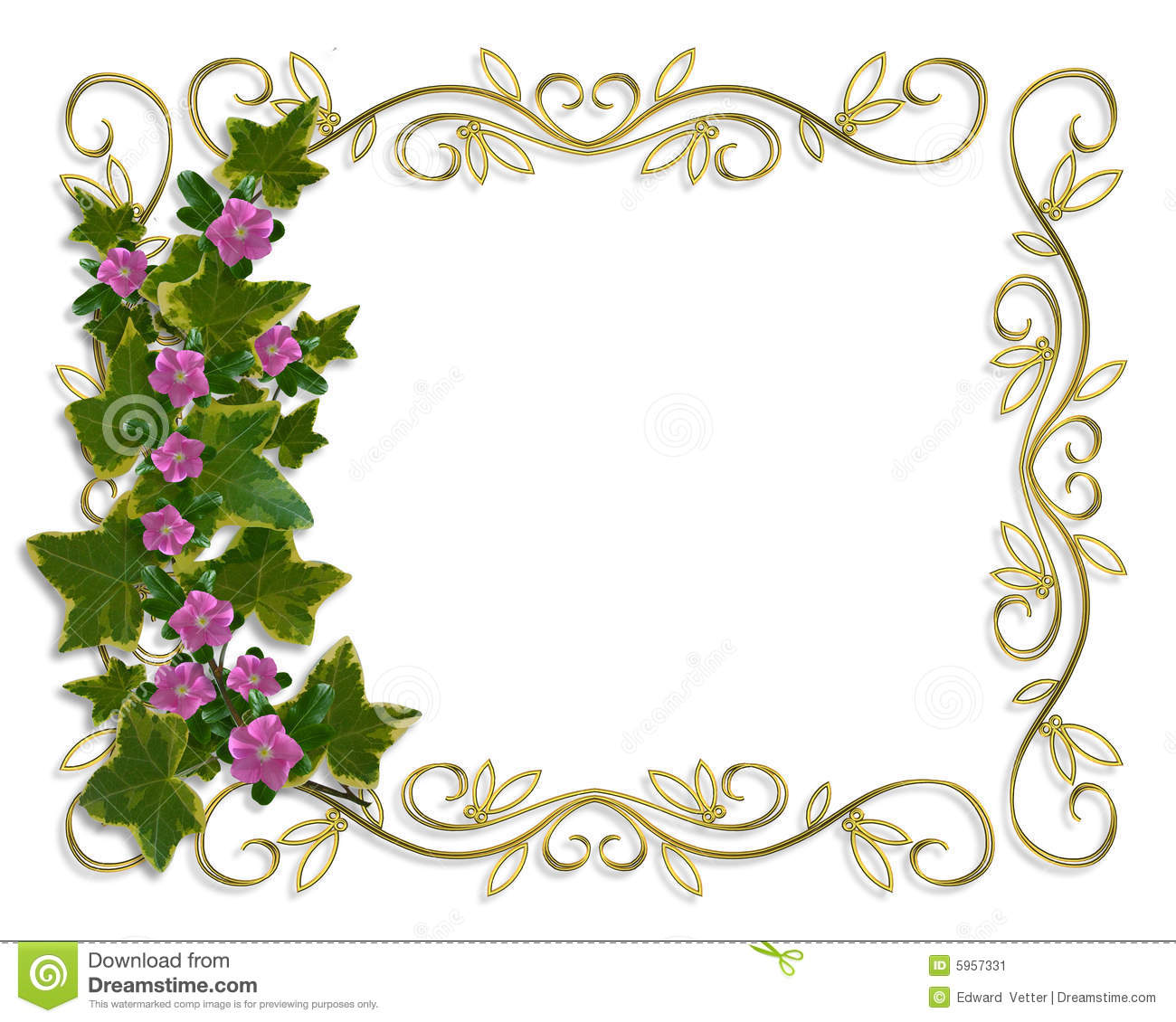 140 Frame Designs - frame flowers my blog, beautiful black and white ...