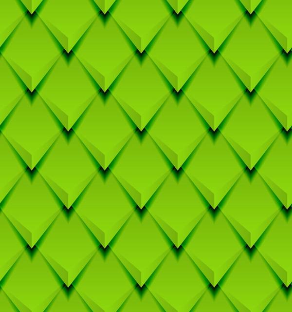 Green Diamond Vector Free