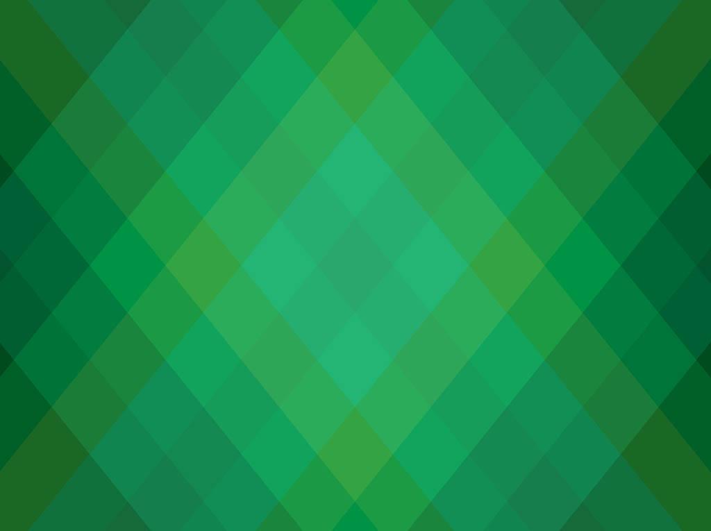 Green Geometric Background Free
