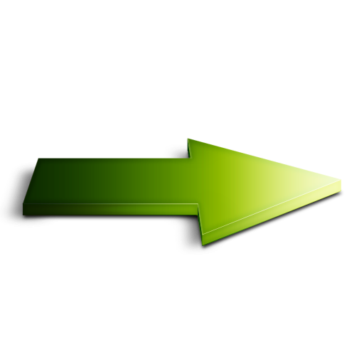 Green Right Arrow Icon